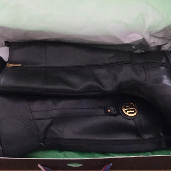 Tommy Hilfiger Shoes - $129 Tommy Hilfiger riding boots 9 wholesale black
